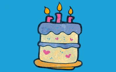 De verjaardag van mijn dochter