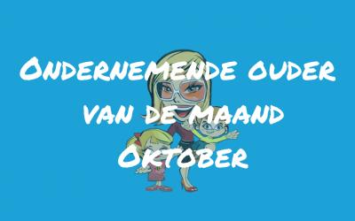 Ondernemende ouder van de maand Oktober 2019